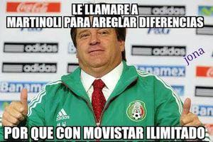Le pegan los memes a Miguel Herrera y Martinoli