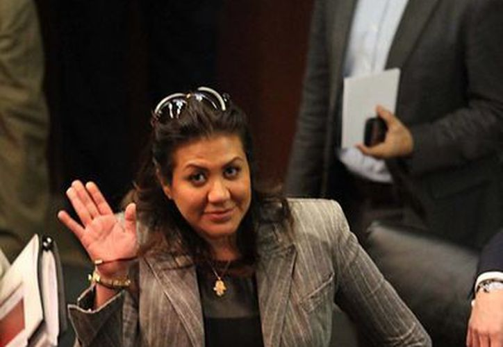 La senadora Arriola Gordillo pide entender que su madre 'es una señora de 70 años'. (Notimex)