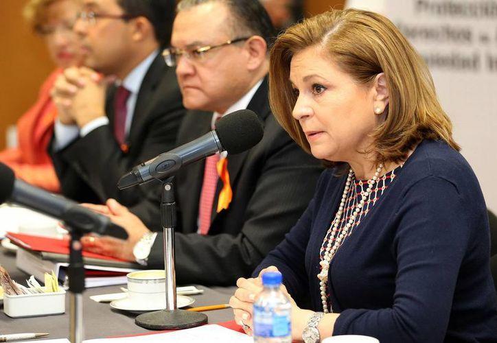 Arely Gómez, titular de la PGR, aseguró que todos los días mantiene reuniones con su equipo de trabajo para conocer los avances en la investigación por la fuga de Joaquín Guzmán Loera.(Archivo/Notimex)
