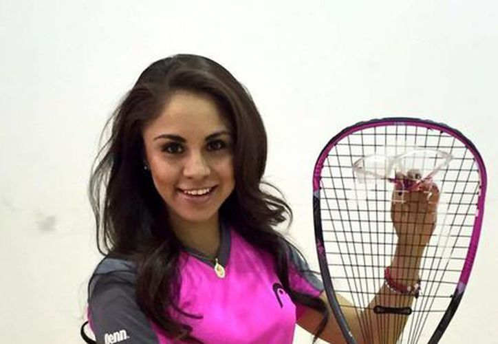 Paola Longoria será la invitada especial en la inauguración del torneo de squash 'Sueños e ilusiones'. (Facebook: Paola Longoria)