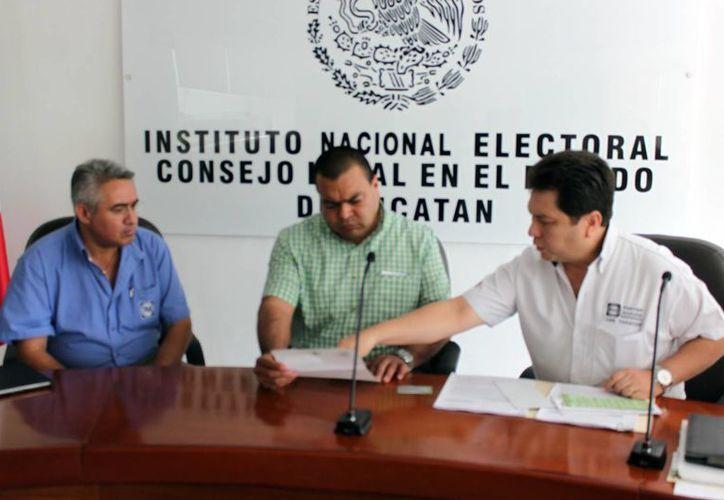 La queja la interpuso el líder del PAN en la entidad ante el INE. (Milenio Novedades)