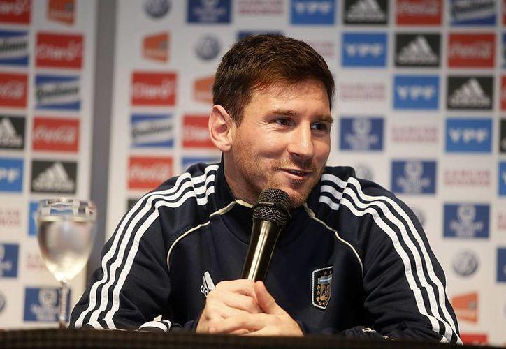El jugador de la selección argentina de fútbol y del Barcelona de España, Lionel Messi. (EFE)