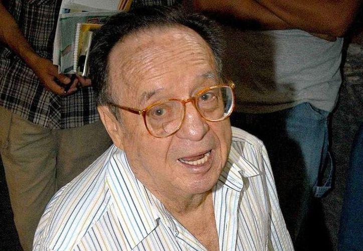 El cuerpo de Roberto Gómez Bolaños 'Chespirito' fue trasladado de Cancún a Toluca. (Notimex)