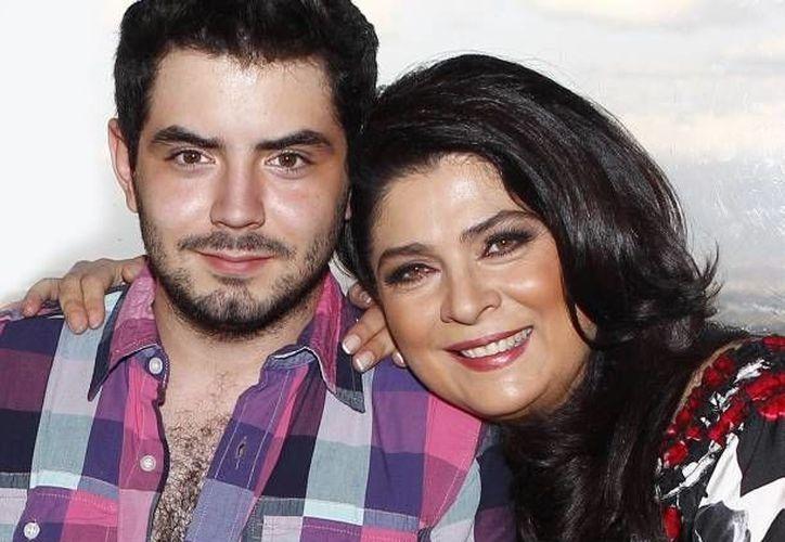 """""""Los comentarios que me pone (mi mamá) son muy lindos"""". (Televisa)"""
