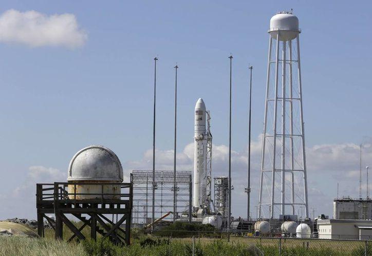 Un cohete Antares despegará en un vuelo de prueba de una nueva nave de carga, Cybnos, para llevar suministros a la estación espacial internacional en órbita de la NASA. (Agencias)