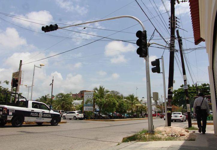 """El proyecto de semaforización es con la intención de """"agilizar"""" el tránsito en la zona. (Jesús Tijerina/SIPSE)"""