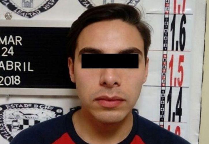 Jesús Manuel Luna Hernández, secretario del ex gobernador César Duarte, fue detenido el martes en Estados Unidos. (Foto: Excélsior)