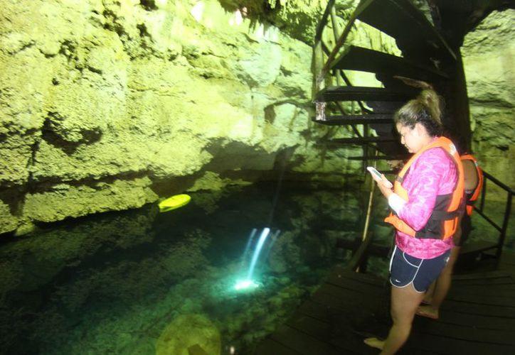 La zona de ejidos cuenta con cenotes que son poco visitados. (Sara Cauich/SIPSE)