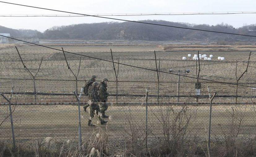 El gobierno de EU indica que pedirá a Corea del Norte 'cesar con las provocaciones'. La imagen es de una central nuclear donde se percibió un sismo que alertó a Corea del Sur y países vecinos. (AP)