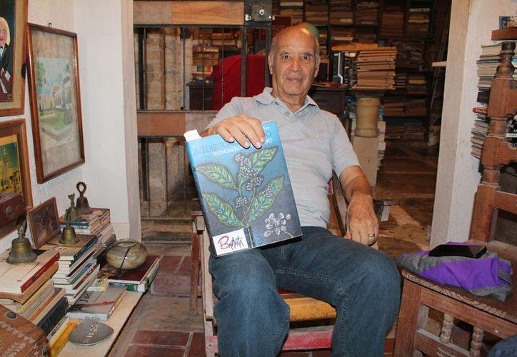 Francisco Bautista Pérez, historiador de Quintana Roo, recordó la antigua ciudad. (Foto: Ángel Castilla/SIPSE)