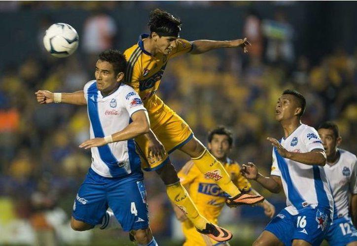 Partido poco lucidor fue el que tuvieron Puebla y Tigres. (tigres.com.mx)