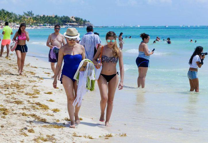 Playa del Carmen prevé recibir a más de 380 mil visitantes. Foto: Redacción