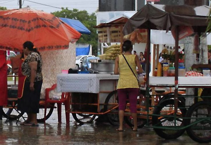 El número de personas que se encuentran en el sector informal de esta capital asciende a unas 800. (Harold Alcocer/SIPSE)