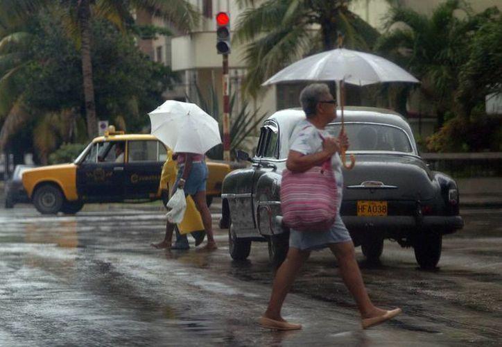 Pinar del Río, la región más castigadas por las intensas y constantes lluvias. (EFE)