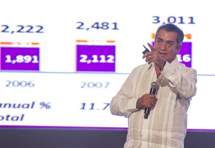 Jaime Heliodoro Rodríguez Calderón estará en la boleta electoral el 1 de julio. (Notimex)