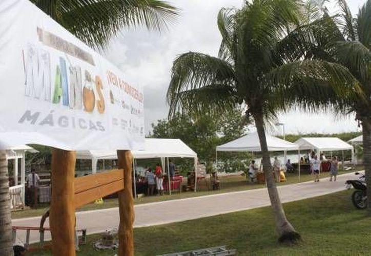 La feria de productos artesanales locales, 'Manos mágicas' se realizará el 1 y 2 de noviembre. (Redacción/SIPSE)