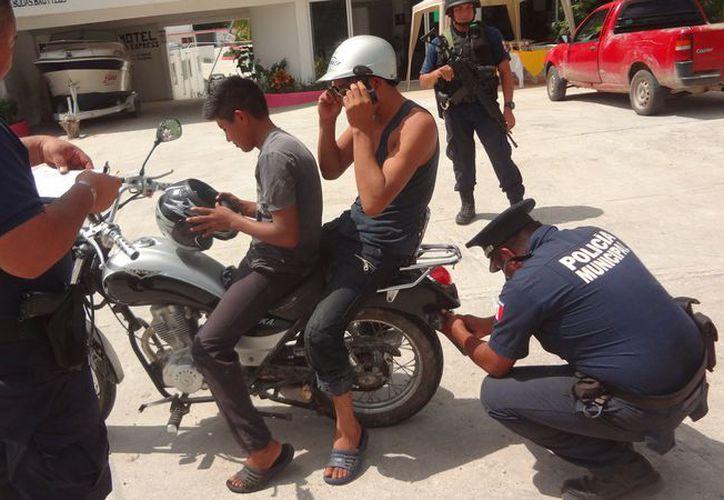 Pedirán actualización del padrón de vehículos robados, para corroborar en las comunidades rurales. (Javier Ortiz/SIPSE)