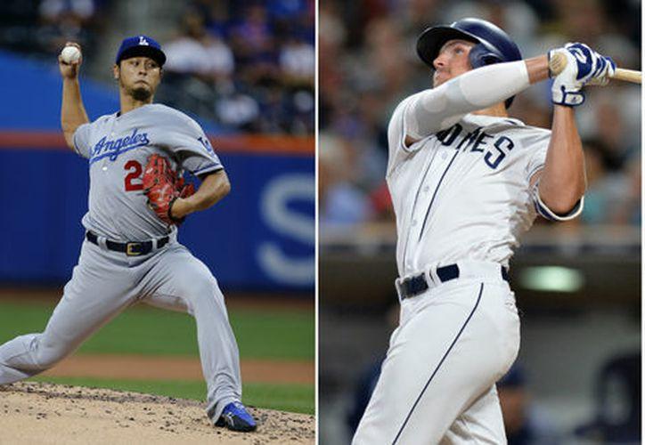 Dodgers de Los Ángeles y los Padres de San Diego, tendrán una serie de tres partidos. (Reuters)