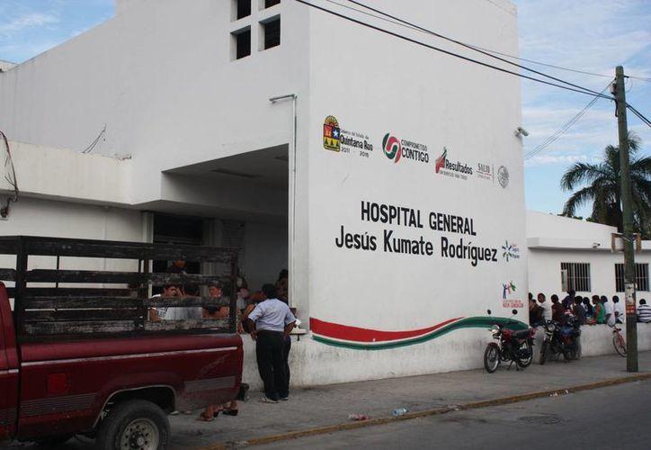 Denuncian negligencia médica en el Hospital General de Cancún. (Redacción/SIPSE)