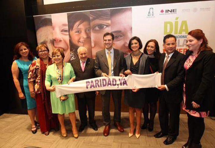 El titular del INE, Lorenzo Córdova, dijo que la igualdad de las mujeres en la política será 'una realidad incontrovertible'. (Facebook/INE)