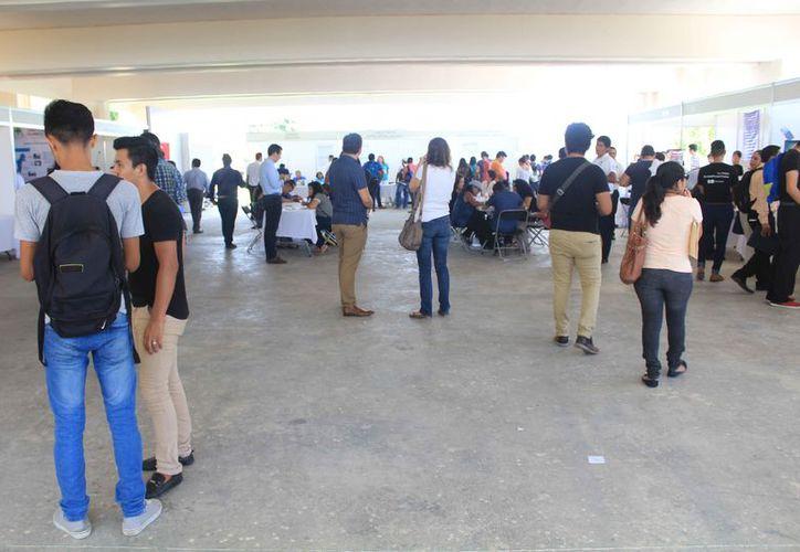 La feria se llevó a cabo en las instalaciones del planetario Kayoc. (Fotos: Luis Soto/SIPSE)