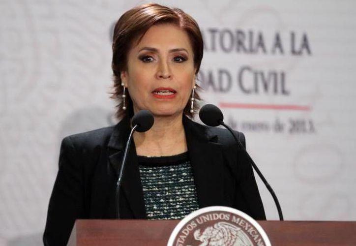 Rosario Robles es titular de la Sedesol y responsable de la Cruzada Nacional contra el Hambre. (SIPSE/Contexto)