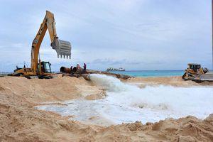 Surge proyecto para mantener arenales en Playa del Carmen