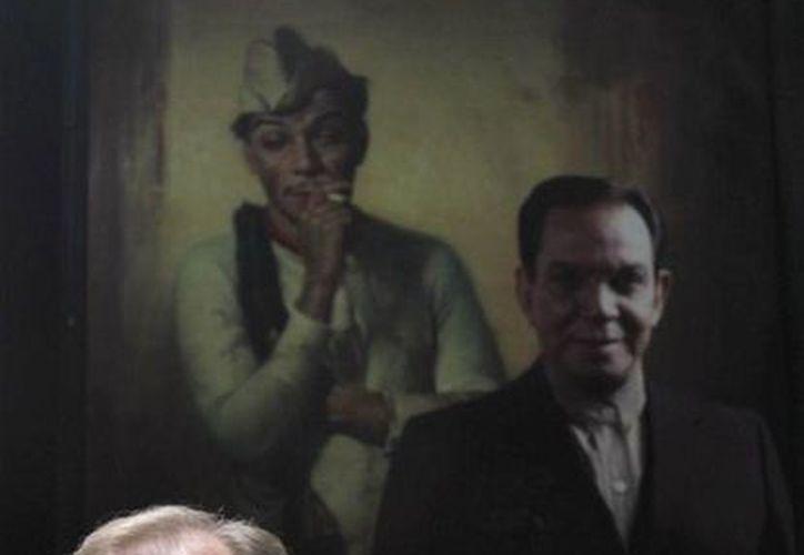 """""""El museo no sólo es de Cantinflas, también hay objetos de Mario Moreno, con los que se muestra cómo llegó a convertirse en este personaje tan querido"""", explicó Mario Ivanova. (Agencias)"""
