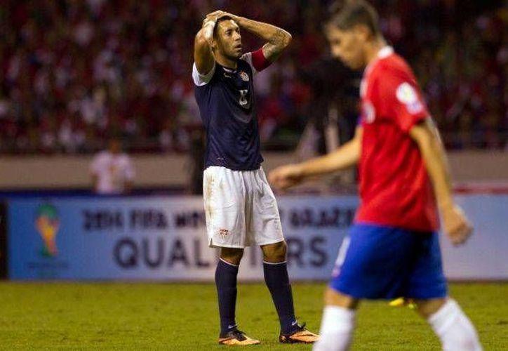 El triunfo ante EU dejó a los costarricenses con cómodos 14 puntos y en la cima de la clasificación. (Agencias).
