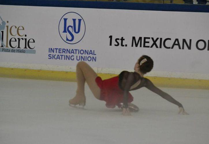 Participación de Raquel Enríquez, de la capital mexicana.