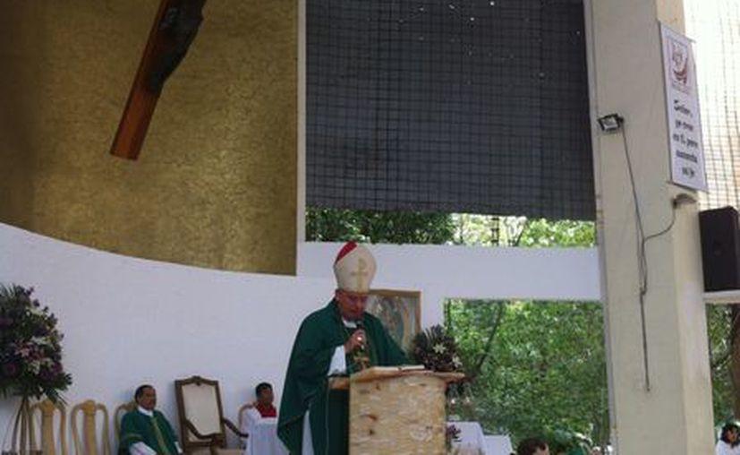 Pedro Pablo Elizondo Cárdenas pidió no hacer declaraciones en contra de los rivales. (Israel Leal/SIPSE)
