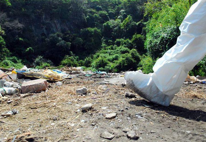 El Grupo Interdisciplinario de Expertos Independientes indicó que la PGR incumplió los acuerdos de confidencialidad sobre las investigaciones en el basurero de Cocula, donde se habrían incinerado los restos de los 43 normalistas de Ayotzinapa. (Archivo/Notimex)