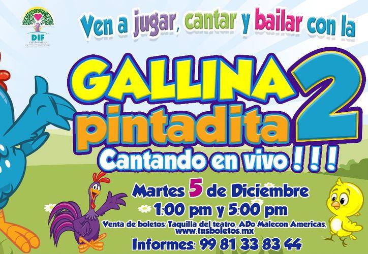 Los boletos  ya están a la venta. La presentación será en el Teatro de Cancún. (Jocelyn Díaz/SIPSE)