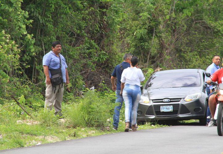 Investigan el taque que sufrió la policía ministerial la noche del pasado martes. (Sergio Orozco/SIPSE)