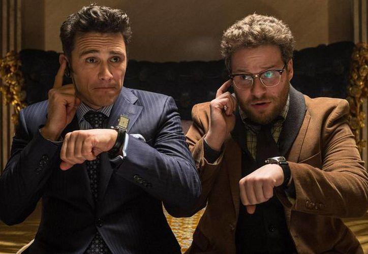 Imagen de la cinta The Interview. protagonizada por James Franco y Seth Rogen. (Sony Pictures)