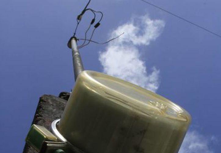 A quienes roban energía, la CFE les aplica el corte inmediato del suministro eléctrico. (Ángel Castilla/SIPSE)