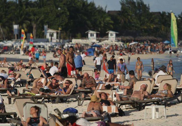El trabajo de promoción turística en la Riviera Maya, mantiene al destino como el mejor de la república. (Redacción/SIPSE)