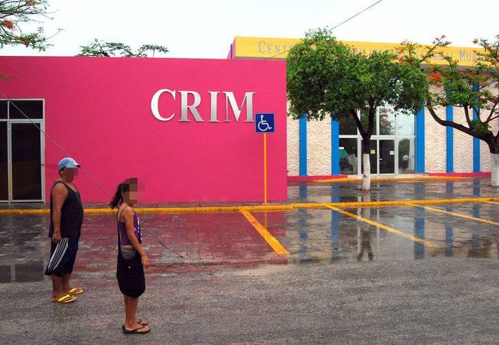 El CRIM atiende entre 30 y 40 personas diariamente. (Tomás Álvarez/SIPSE)