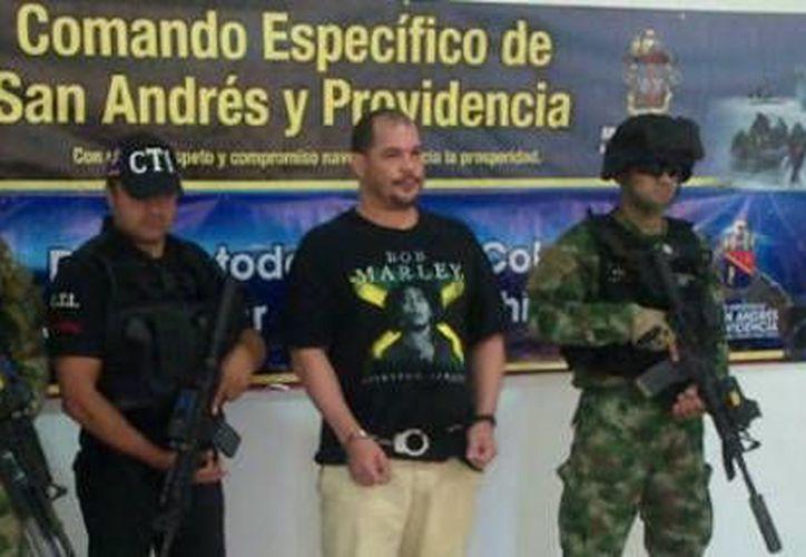 """El colombiano Anderson Bryan Lever, alias """"Mono Lever"""", es solicitado en extradición por Estados Unidos. (eltiempo.com)"""