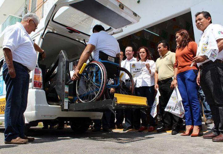 Se busca que la unidad pueda llegar a Chetumal para atender a las personas con discapacidad que llegan de la Ciudad de México. (Ángel Castilla/SIPSE)