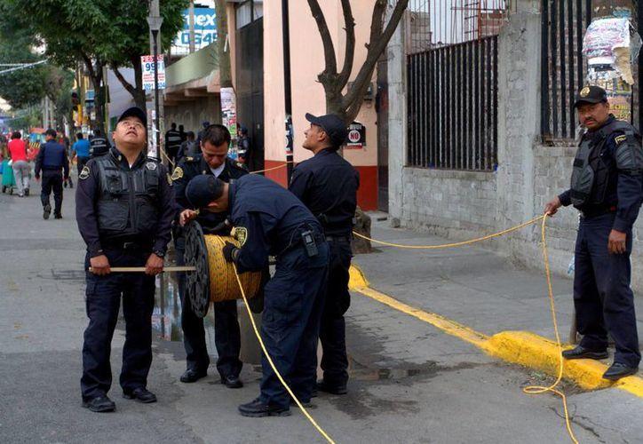 La SSP del Distrito Federal desplegó 10 mil 225 elementos en Iztapalapa. (Notimex)