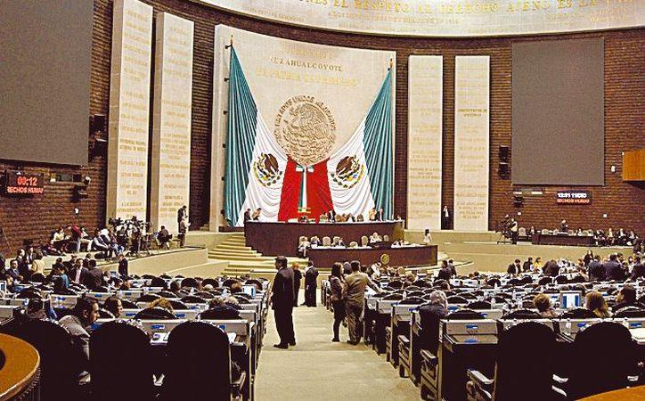 Sesión de la Comisión de Presupuesto y Cuenta Pública. (Milenio)