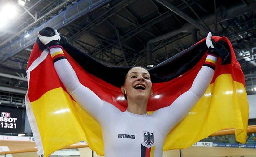 Kristina Vogel, bicampeona olímpica en ciclismo, ya no podrá volver a caminar. (Reuters)