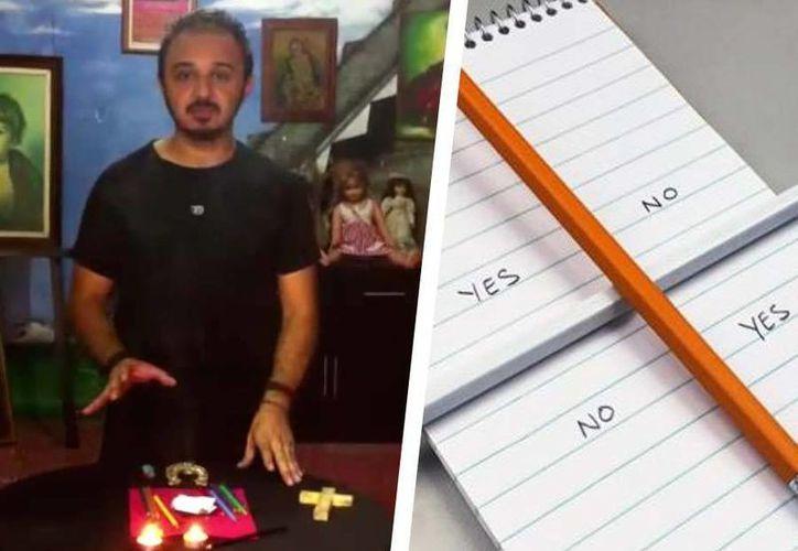 En el video difundido en su canal de Youtube, Jorge Moreno explica la mejor manera de contactar a Charlie y otros espíritus. (Foto: Especial)
