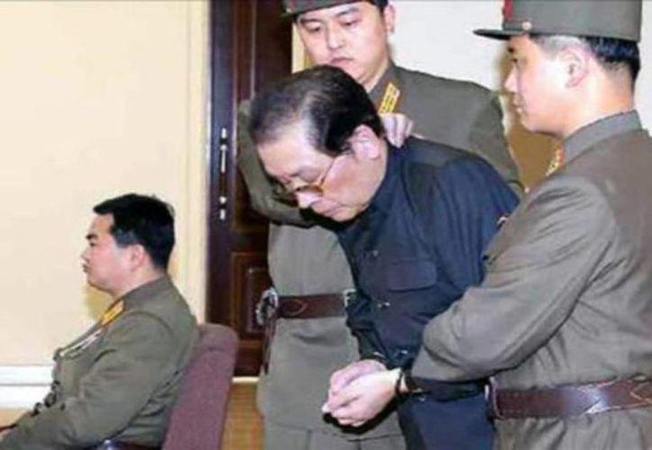 Jang Song-thaek fue ejecutado por una acusación de alta traición y complot contra su sobrino Kim Jong-un. (Agencias)