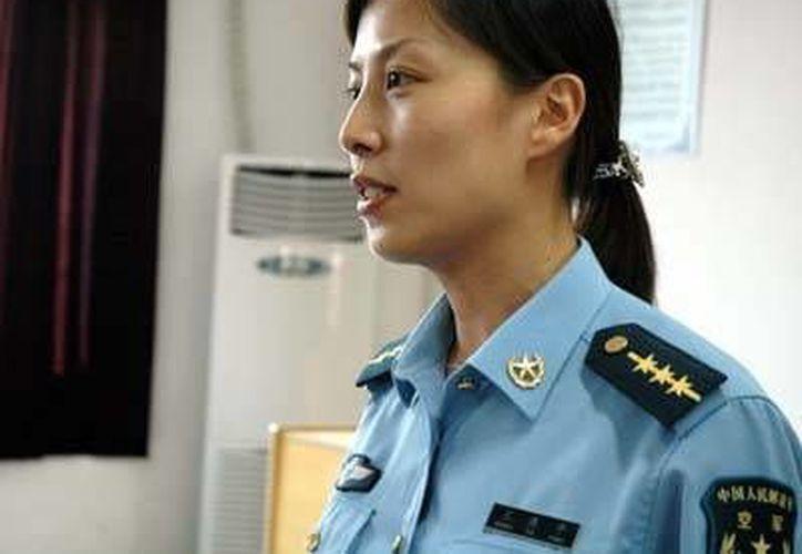 Wang Yaping es teniente de la Fuerza Aérea. (collectspace.com)