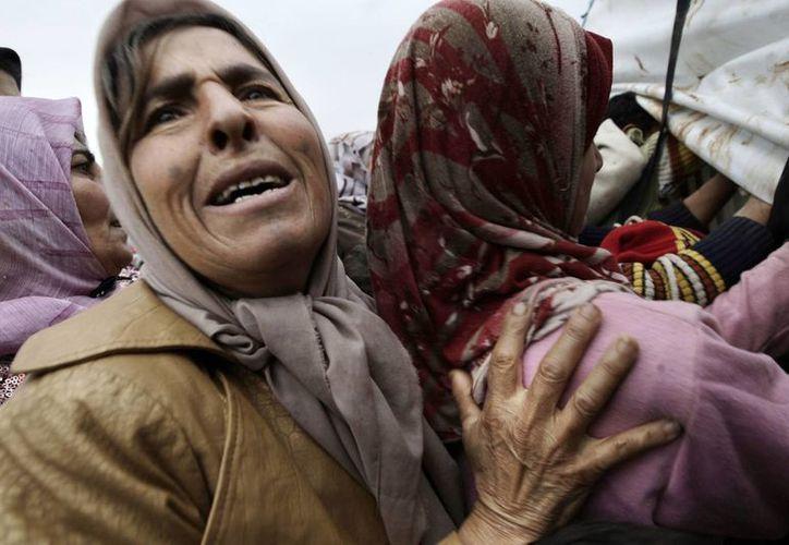 Se estima que unos 80 mil sirios han muerto en lo que va de la guerra. (Agencias)
