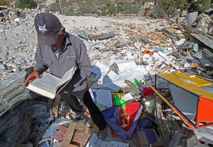 El 23 de diciembre, las familias que quedaban en Salaverna fueron desalojadas y sus viviendas destruidas. (vanguardia.com.mx)