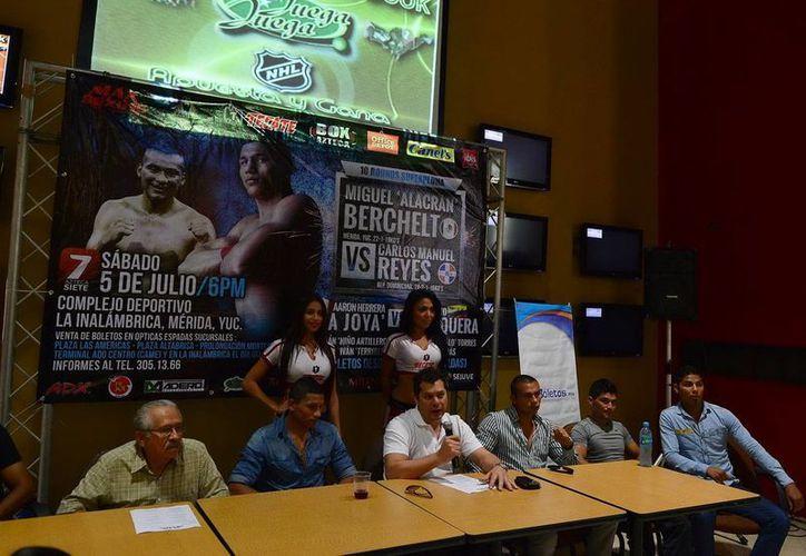 Los organizadores detallaron la cartelera para el 5 de julio. (SIPSE)