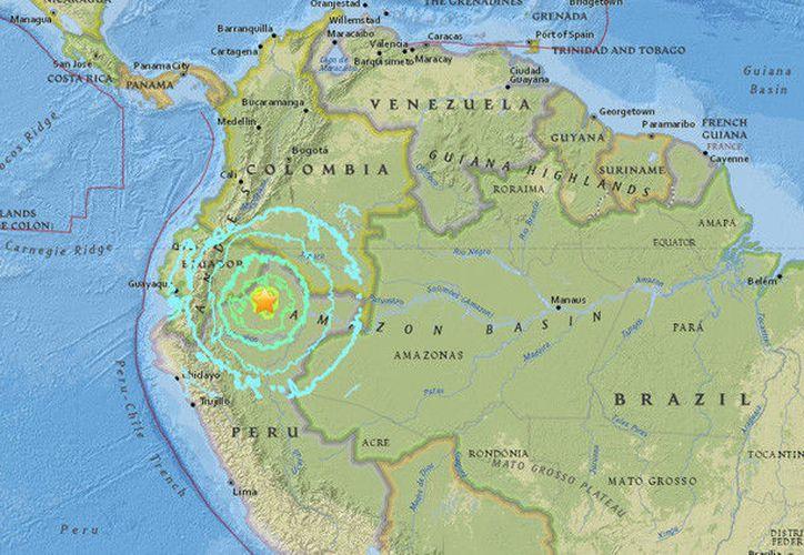 El sismo se sintió en poblaciones ubicadas a ambos lados de la frontera de los dos países sudamericanos. (RT).